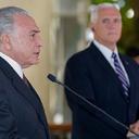 No Brasil, vice dos EUA discursa contra imigrantes latinos