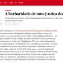 Jornal português denuncia ilegalidades do Judiciário