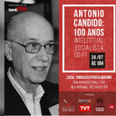 Antonio Candido será homenageado na sede da FPA