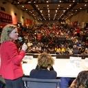 Gleisi na UNE: Estamos juntos na luta por Lula até o fim