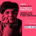 """Marilena Chaui ensina """"Democracia e seus obstáculos"""""""