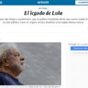 El País: O legado de Lula