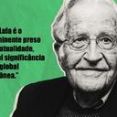 Lula é 'o mais proeminente preso político', diz Noam Chomsky