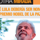 Ex-canciller defiende Lula para Nobel de la Paz