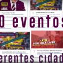 Confira programação da Jornada Lula Livre pelo mundo