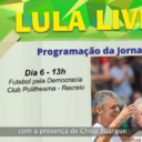 Rio de Janeiro tem futebol pela democracia com Chico Buarque
