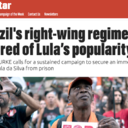 "Morning Star: ""A direita governa com medo de Lula"""