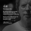 Mia Couto escreve bilhete a Lula