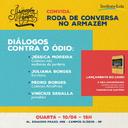 """Armazém do Campo recebe hoje """"Diálogos contra o ódio"""""""