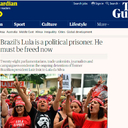 Brazil's Lula is a political prisoner. He must be freed now