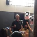 Em ato, amigos lembram prisão de Lula na ditadura