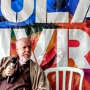 Biógrafo de Tancredo visita Vigília Lula Livre