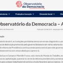 Observatório analisa políticas destrutivas de Bolsonaro
