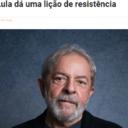 Mino Carta: Lula dá uma lição de resistência