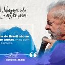 Lula: Problema não se resolve com armas, mas com escolas