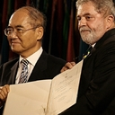 10 years ago, Unesco awarded Lula a prize for fostering peace