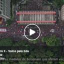 Atos pela Educação são destaque no Boletim Lula Livre