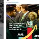 Lula responde a Bolsonaro sobre seu legado na Educação