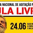 Baixe jornal do Dia Nacional de Agitação por Lula Livre