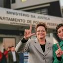 Dilma após visita: É sempre muito difícil ver um inocente preso