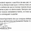 Lula envia carta a Felipe Santa Cruz, presidente da OAB