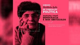 Aula grátis: Chaui ensina ʽdemocracia e seus obstáculos'