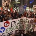 No dia 7, estudantes vão às ruas de preto e caras pintadas