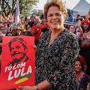Lula representa a ideia de outro Brasil possível, diz Dilma