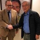 Senador francês visita Instituto Lula