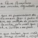 """Carta ao povo brasileiro: """"Não troco minha dignidade pela minha liberdade"""""""