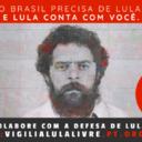 Luta pela liberdade de Lula renova campanha de doação