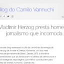 Blog sobre democracia e memória estreia no UOL