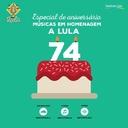 Artistas gravam podcast de feliz aniversário a Lula