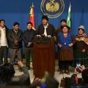 Lideranças sul-americanas denunciam golpe contra Evo