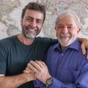 Lula e Freixo discutem segurança pública em reunião no IL
