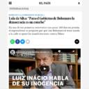 """Lula da Silva: """"Para el Gobierno de Bolsonaro la democracia es un estorbo"""""""