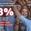 Para 68%, Lula teria vencido a eleição se estivesse livre