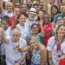 Lula participa do Natal com catadores