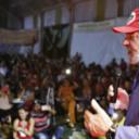 """Se demonstramos medo, somos dizimados"", diz Lula"