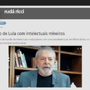 O encontro de Lula com intelectuais, por Rudá Ricci