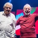 Nos 40 anos do PT, Lula e Mujica fazem apelo à juventude