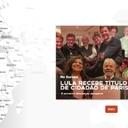Mapa interativo reúne as atividades de Lula na Europa