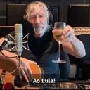 Roger Waters faz brinde a Lula