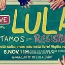 Lula participa de live com membros da Vigília Lula Livre