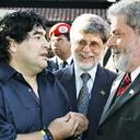 Lula e Dilma lamentam a morte do genial Maradona