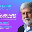 Inscreva-se: Brasil entre a soberania e a subordinação