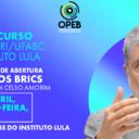Aula 1: Celso Amorim estreia novo curso Instituto Lula