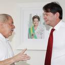 Governador Cid Gomes, do Ceará, visita ex-presidente Lula em São Paulo