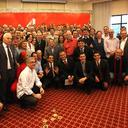 Lula posa para fotos em apoio a cerca de 100 candidatos a prefeito