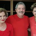 Lula, Dilma e dona Marisa almoçam juntos no Instituto Lula